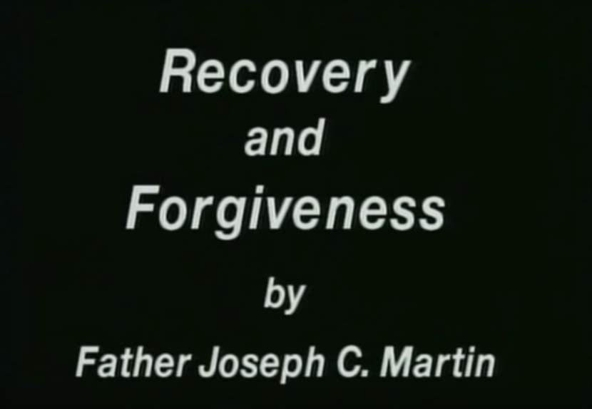 AA talk by Father Martin