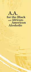 AA for African American Alcoholic